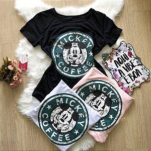 T-shirt coffe mickey |