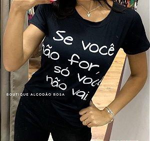 T-shirt Só você