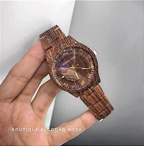 Relógio Marrom