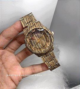 Relógio Tipo Madeira