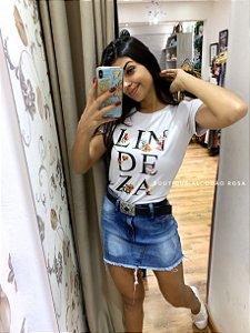 T-shirt Lindeza