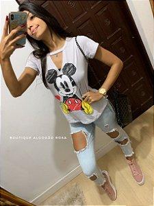 T-shirt choker mickey