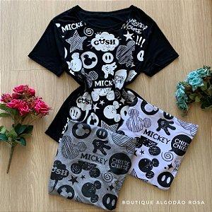 T-shirt Mickey Luva