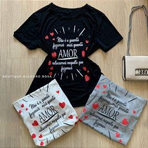 T-shirt amor colocamos