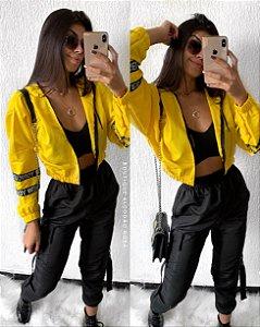 Corta Vento Amarela