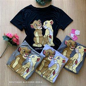 T-shirt Rei Leão ||
