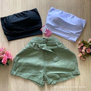 Short Verde Cintinho