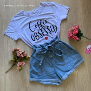 T-shirt Coffee obsessed