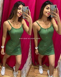 Vestido Verde bojo