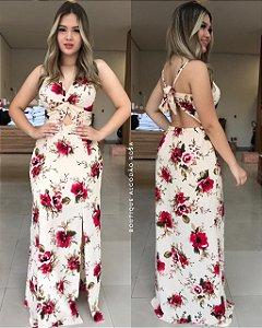 Vestido Rosinhas