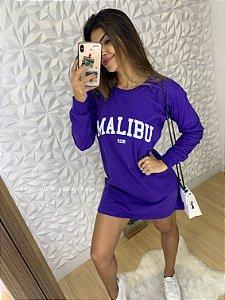 Camisa Malibu Roxo
