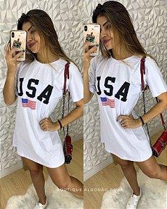 Camisão USA Branco