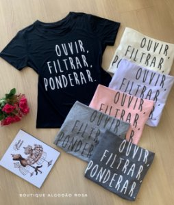 T-shirt Ponderar