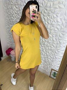 Vestido Charmosa Mostarda