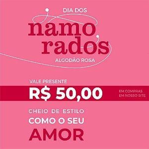 Vale Presente 50,00 reais