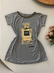 T-shirt Perfume Cinza