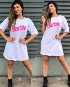 Camisão Barbie Branco