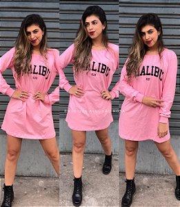 Camisa Malibu Rosa