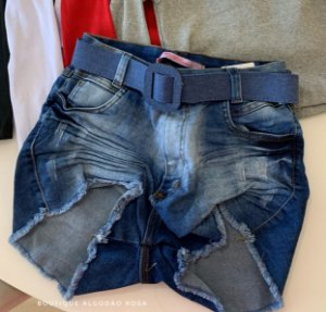 Short Jeans Bolsinho