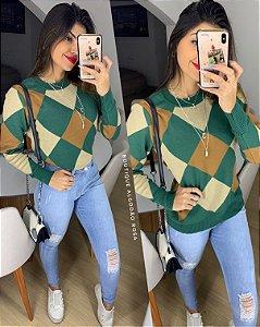 Blusa Suéter Verde