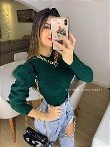 Blusa Princesa Verde