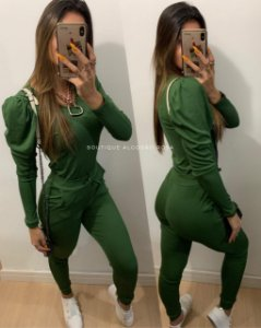 Conjunto Princesa Verde