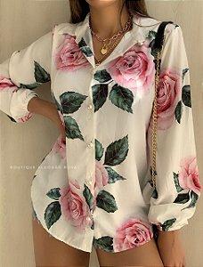 Camisa Flores 🌷