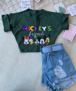 Cropped Mickey Verde
