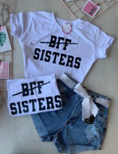 Cropped Sisters Branco