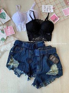 Short Cintinho Jeans I