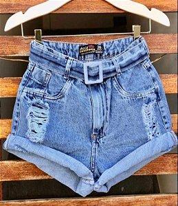 Short Cintinho Jeans II