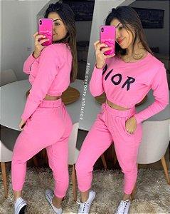 Conjunto Dior Rosa