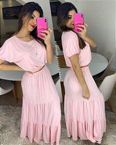 Conjunto Rosa Pastel