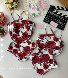 Body V Rosas Branco