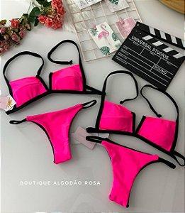 Biquini Rosa Neon
