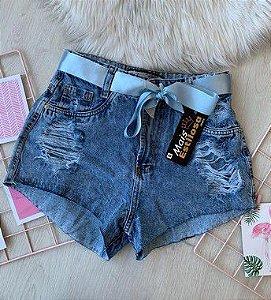 Short Cintinho Azul