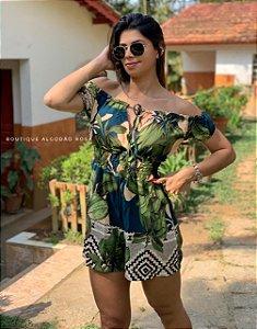 Macaquinho Jasmin Azul