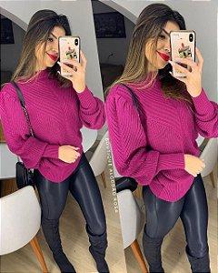 Blusa Rosa V