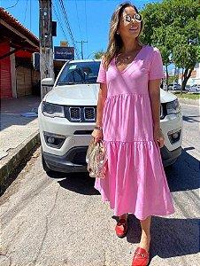 Vestido Bia Rosa