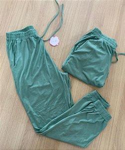 Calça Suede Verde