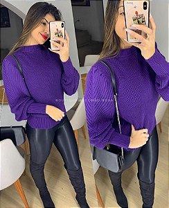 Blusa Fashion Roxo