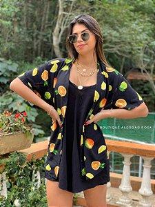 Camisa frutas Cores