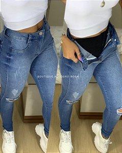 Calça Layla Jeans Cinta