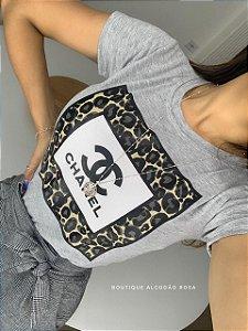 T-shirt Olívia Cinza