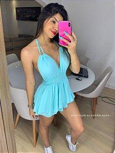Macaquinho Manu Azul Claro