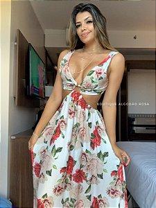 Vestido Santini Flores