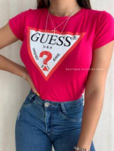 T-shirt U.S.A Rosa