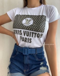 T-shirt Paris Branco