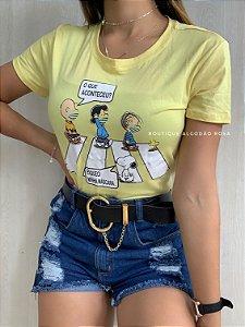 T-shirt Amarela Máscara