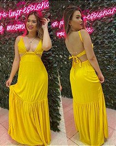 Vestido Lara Amarelo